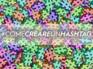 creare un hashtag